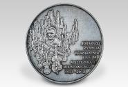 medal z okazji 75-lecia utworzenia Liceum Muzycznego w Katowicach